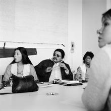 Students in an American Indian Studies class